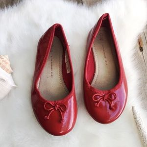 GAP Simple Ballet Flats Nordic Red Size 13